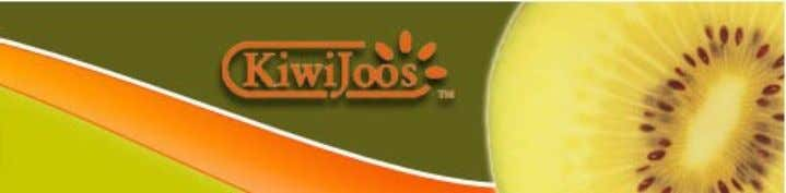 Positioning: KiwiJoos will position itself as a no – compromise drink where a person does not