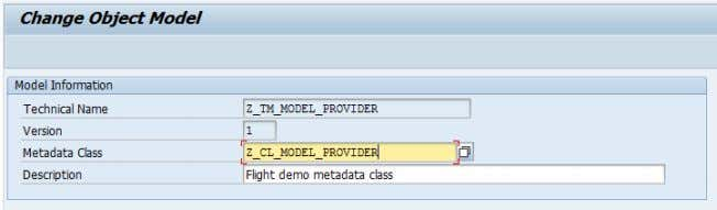How To Write an OData Channel Gateway Service. Part 1 - The Model Provider Class 4.6