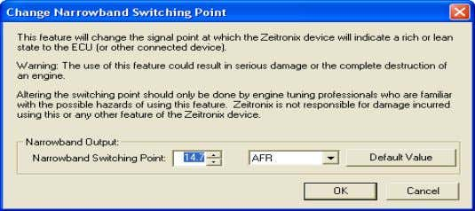 Use at your own risk and off road only. SOFTWARE SETUP Open the Zeitronix Logging Software.
