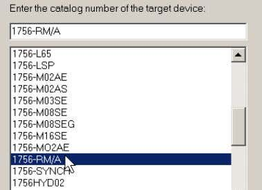 Select the redundancy module catalog number and click Next. 3. Browse to the redundancy module and