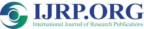 Available online at www.ijrp.org International Journal of Research Publications Volume-20, Issue-1,January 2019 Accepted and Published Manuscript