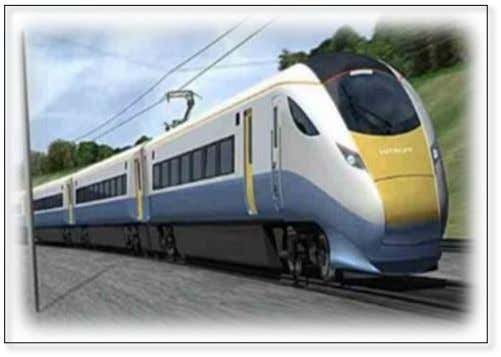 commuters as well as a comfortable and fast travel option. The total distance covered by the