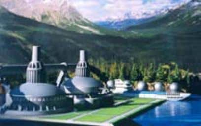 for social and cultural exchange. Geothermal Energy Plants Geothermal energy, with refinements in conversion