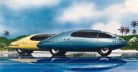 40 Automobiles Streamlined cars would provide high-speed, energy efficient, and safe long-range transportation. Some