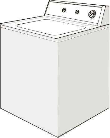 WASHER Owner's Guide LAVEUSE Guide de L'utilisateur Table of Contents 2 Important Safety Instructions 2 Washing