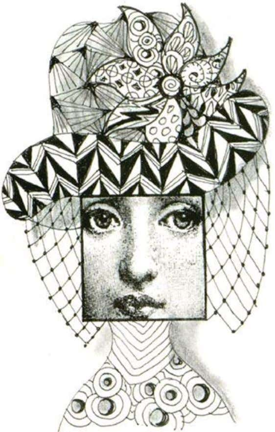 Use Hampton Art Rubber Stamp #DF2282 'Face in Square' by Diana Kovacs as the face.