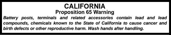 or emit chemicals known to the State of California to cause cancer, birth defects or other
