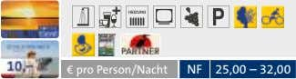 € pro Person/Nacht NF 25,00 – 32,00