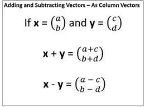 ​ ​ and ​ ​ Subtraction ​ ​ of ​ ​ Vector ( ​​ Very ​​