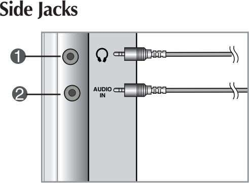 Side Jacks AUDIO IN