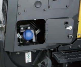 for the KDPF and Selective Catalytic Reduction (SCR) unit. AdBlue® tank For simple access, the AdBlue®