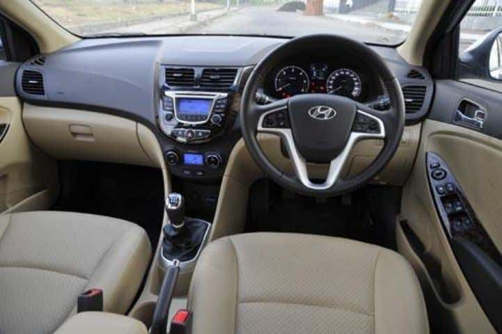 Interior Going by the new Verna's adventurous exterior styling, you'd expect something equally funky on