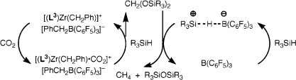 per Si - H bond. c Isolated yields of siloxane. Scheme 1 of cyclic and linear