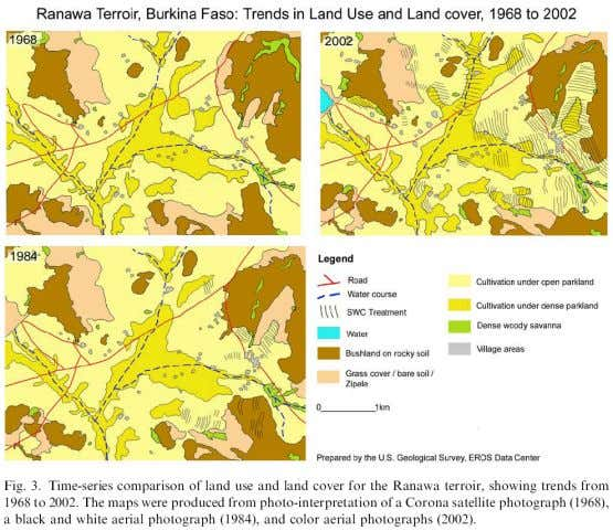 use/land cover brought about by soil&water conservation Reij et al 2005 Is there room for local
