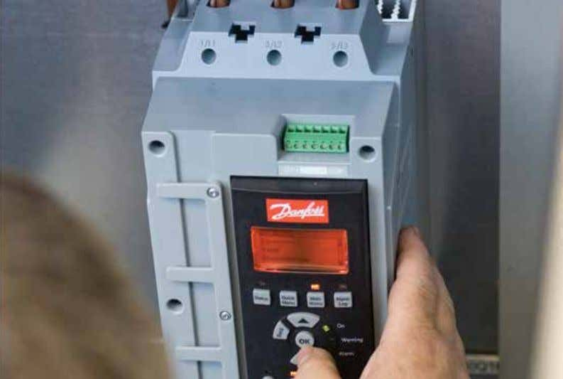 VLT® Control Panel LCP 501 Everything you can do with the 100% easy connection VLT®