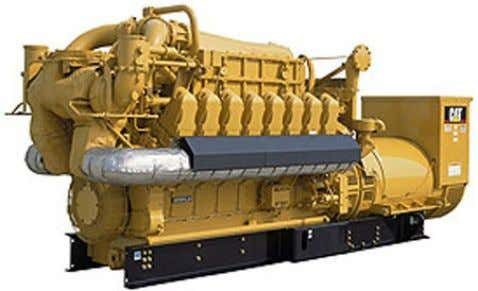 Diesel de type CATERPILLAR : soit CAT3516 soit CAT3412. Fig9 : CAT3516 Fig10 : CAT3412 ENIM