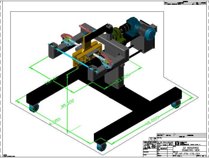 AutoCAD 2004 Preview Guide Figure 24. Drawing layout with a shaded viewport The Page Setup and