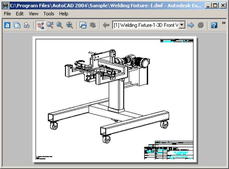 AutoCAD 2004 Preview Guide Figure 50. Autodesk Express Viewer bookshelfbd.blogspot.com bookshelfbd.blogspot.com
