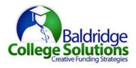more about us, visit www.BaldridgeCollegeSolutions.com 10521 W. Layton Avenue Suite 200 Greenfield, WI 53228
