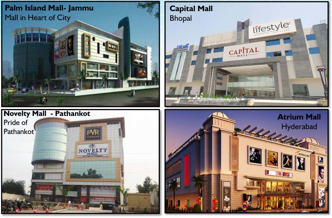 Palm Island Mall- Jammu Mall in Heart of City Capital Mall Bhopal Novelty Mall -