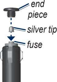 end piece silver tip fuse