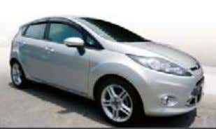 Central Lock, Leather Seats, ABS, Airbag, CD, 40,xxx KM. Ford Fiesta (S) THB 525,000 PRE-OWNED: Grey,