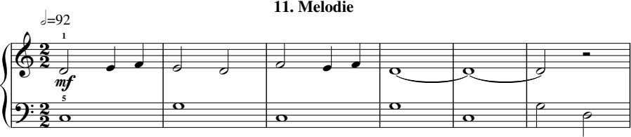 11. Melodie h=92  1          