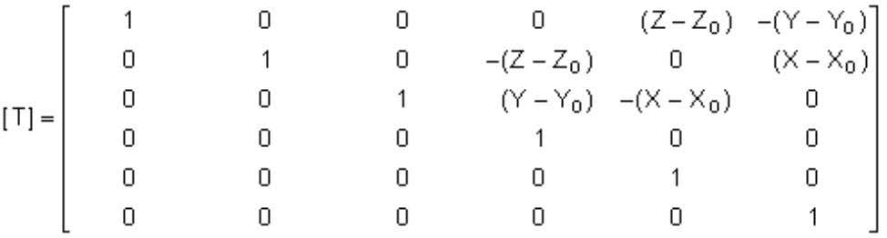 Theory Reference Page: 5 X, Y, Z = global Cartesian coordinates of a point on the