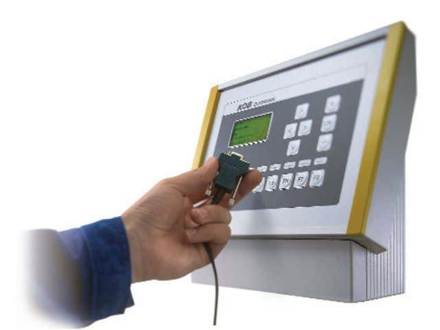 R eady to plug in. The ECOTRONIC facility control system. The ECOTRONIC facility control system