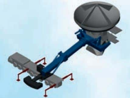 a large mobile crane (to be used in combination with rented trans­ port vehicles). The Messenger