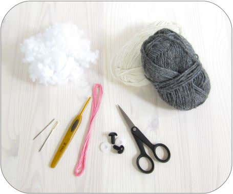 • Yarn needle, scissors, stitch marker. Abbreviations • mr, • sl st = slip stitch (single