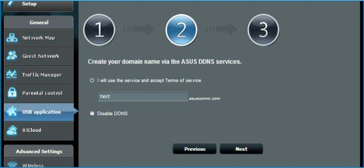 and key in your domain name. When done, click Next . You can also select Skip
