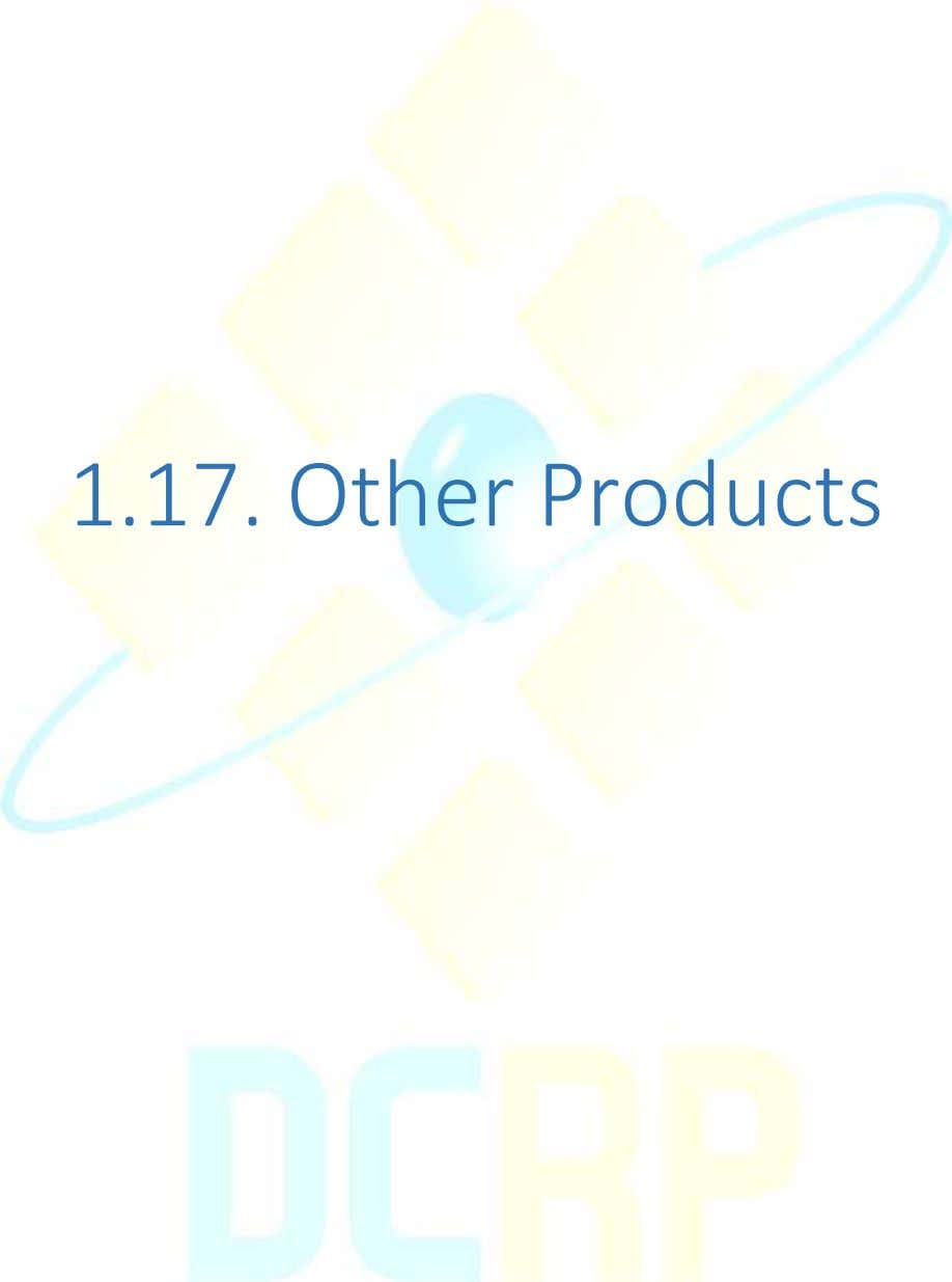 1.17. Other Products