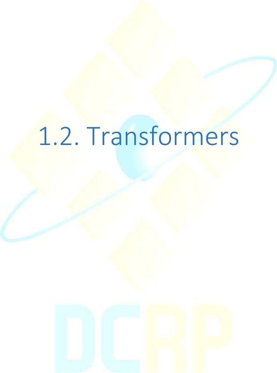 1.2. Transformers