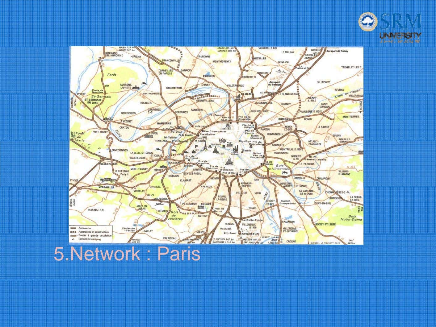 5.Network : Paris