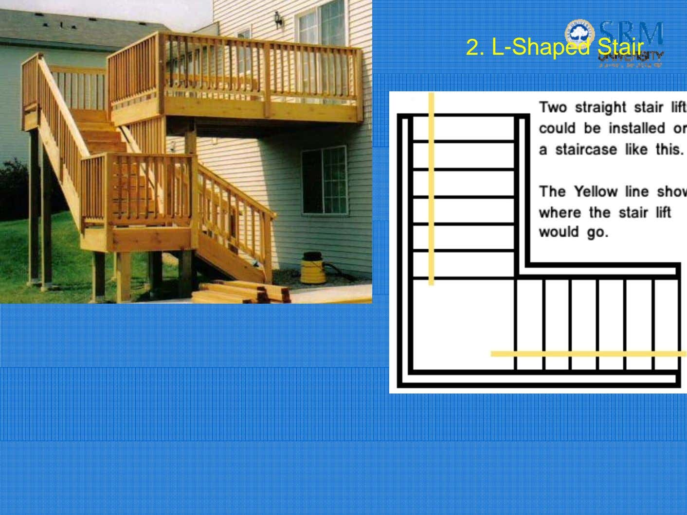 2. L-Shaped Stair