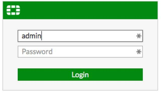 admin account has the username admin and no password. Configuring interfaces 1. To edit the Internet-facing