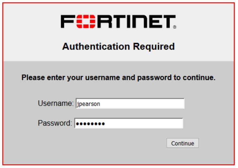 to a different site and re-attempt user authentication. 2. Go to Monitor > Firewall User Monitor