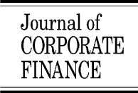 Journal of Corporate Finance 10 (2004) 301 – 326 www.elsevier.com/locate/econbase Entrepreneurial finance: an overview