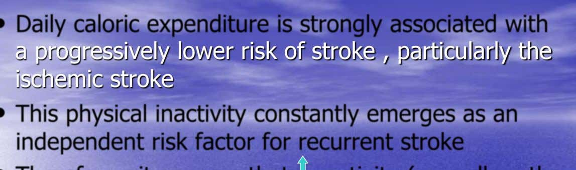 a progressively lower risk of stroke , particularly the ischemic stroke