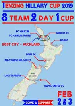 "700 people to come and see the tournament over the weekend in Auckland this time,"" Mr"