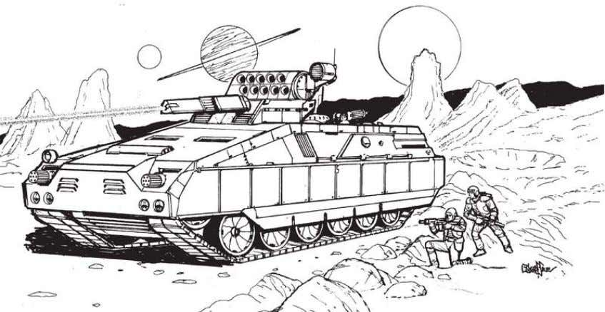 guns and anti-tank gun carriages, Merkava VIIIB, Korvin Tank Artist rendering of a Korvin Tank in