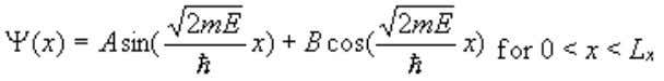 well. The general solution to this differential equation is: (1.2.19) (1.2.20) Where the coefficients A and