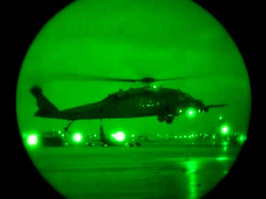 easily be seen by NVG from 1.2 miles (2km) on a dark night. Figure 4- Night