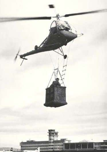 "to exceed the safe operating requirements of the helicopter. Figure 35- ""Helicopter Lift Technique."" This early"