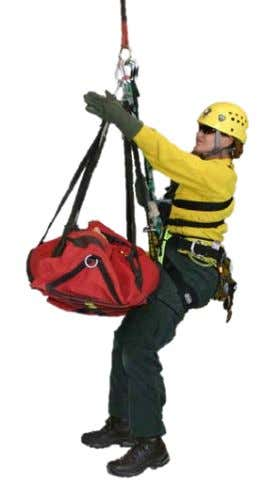 44- Bauman Bag Stretcher. Image copyright CMC Rescue. Designed for the specific purpose as an aerial