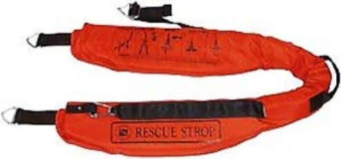 appropriate device. The strop is typically a buoyant device Figure 56- Rescue Strop. Image copyright Lifesaving