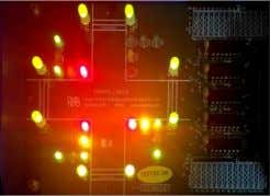 LAB-12 TRAFFIC LIGHT INTERFACE Aim: To Interface a traffic light Peripheral Interface (PPI). to 8086