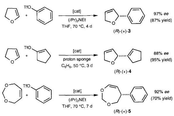 of β - Hydride Elimination: The Asymmetric Heck Reaction Loiseleur, O.; Meier, P.; Pfaltz, A. Angew.