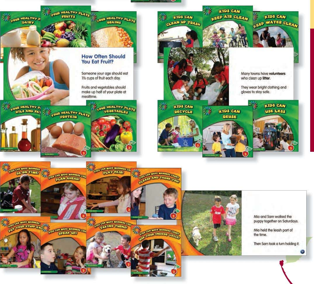 GUIDED READERS GUIDED READERS Level 3 CALL: 1-866-918-3956 • FAX: 1-866-489-6490 • ONLINE: